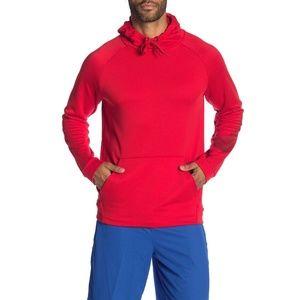 Nike Dri Fit Men's Pullover Hoodie Sweatshirt Red